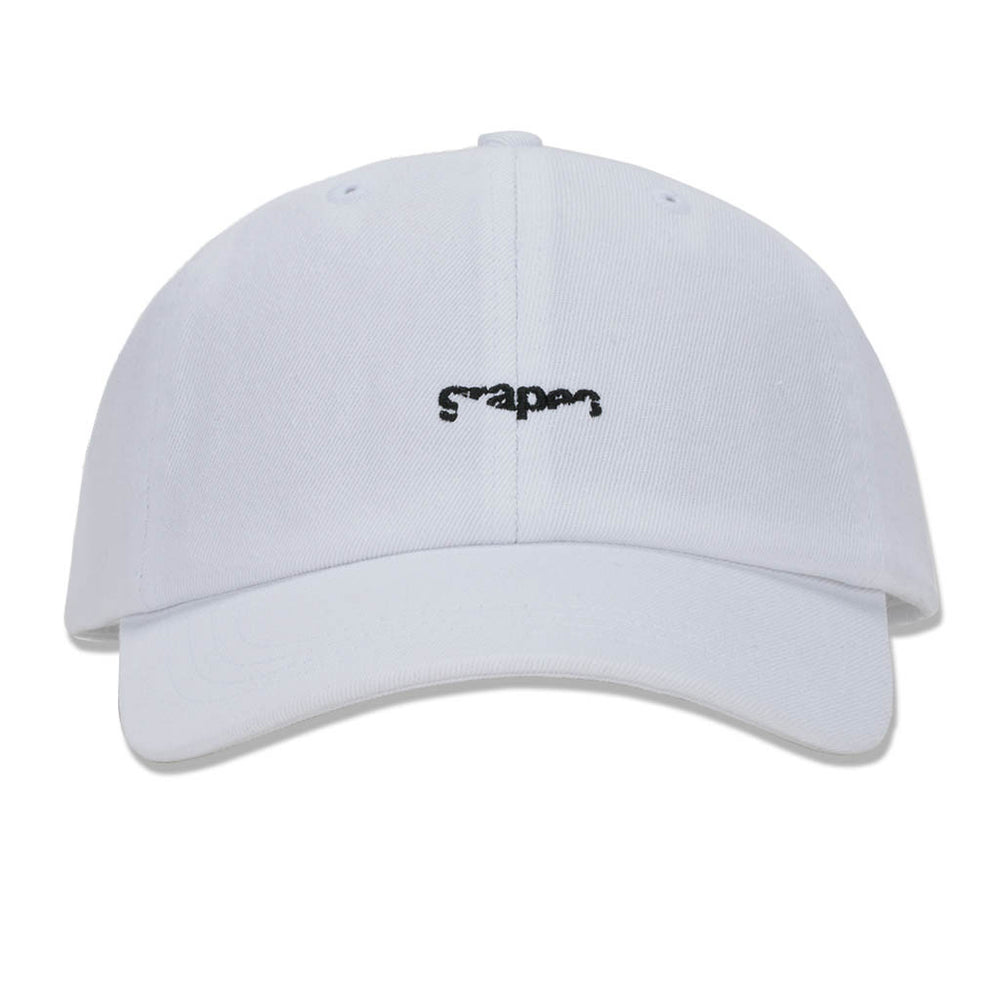 "Grapes ""Bay"" Canvas Dad Hat - White"