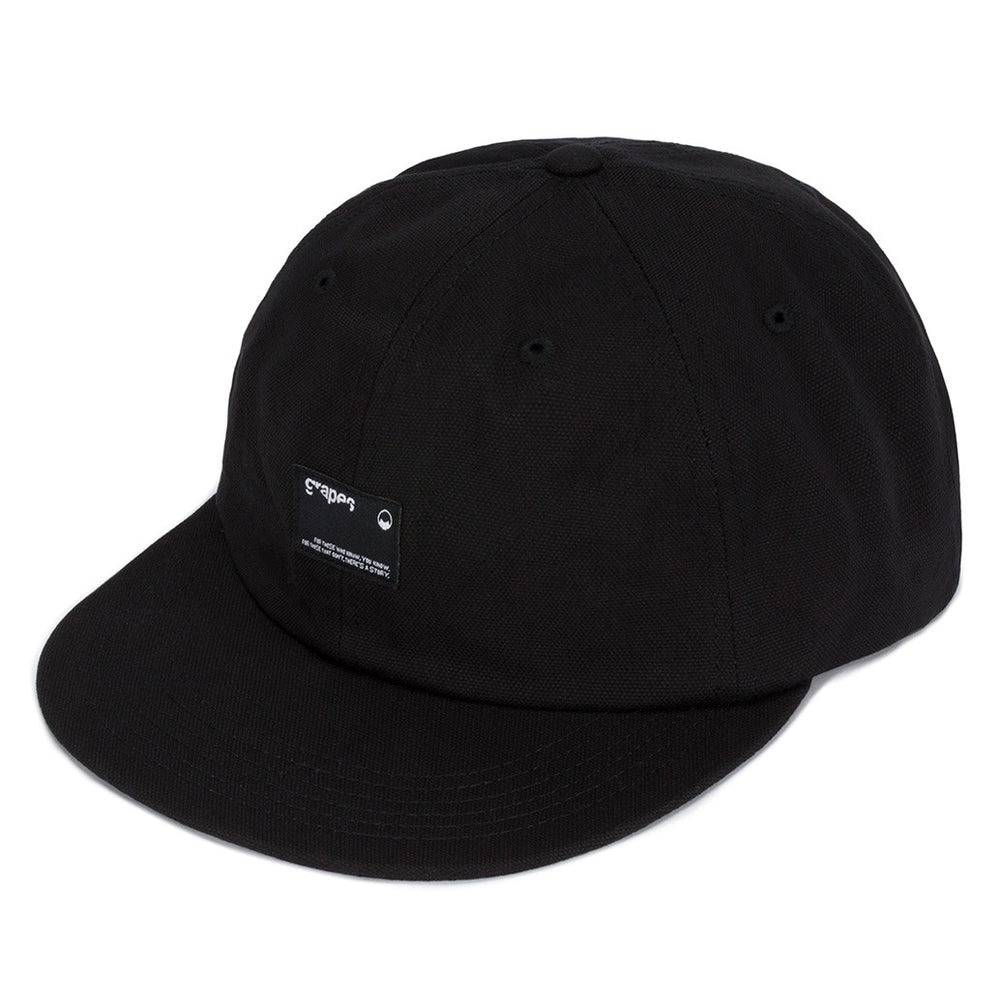 "Grapes ""Patch"" Strap Back Hat - Black"