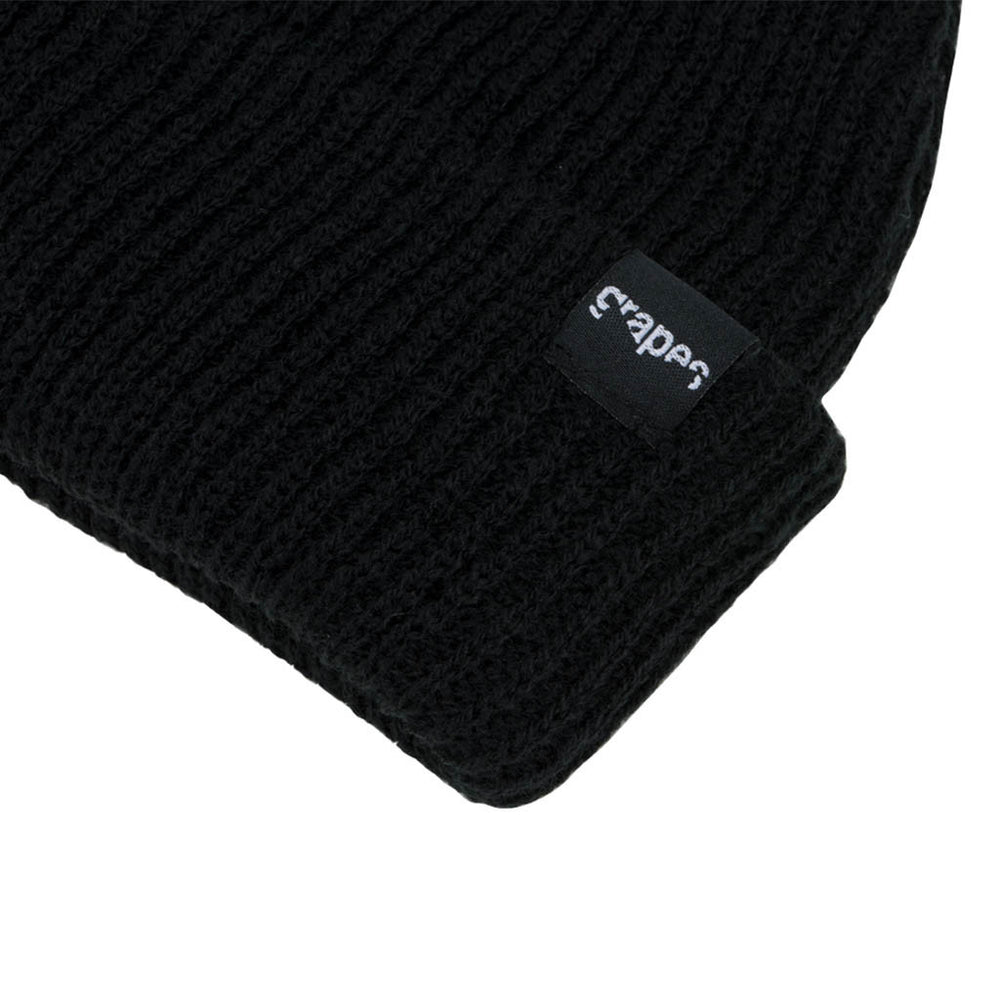 "Grapes ""Ferv"" ""Beanie - Black"