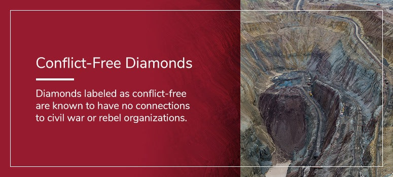 What are conflict free diamonds