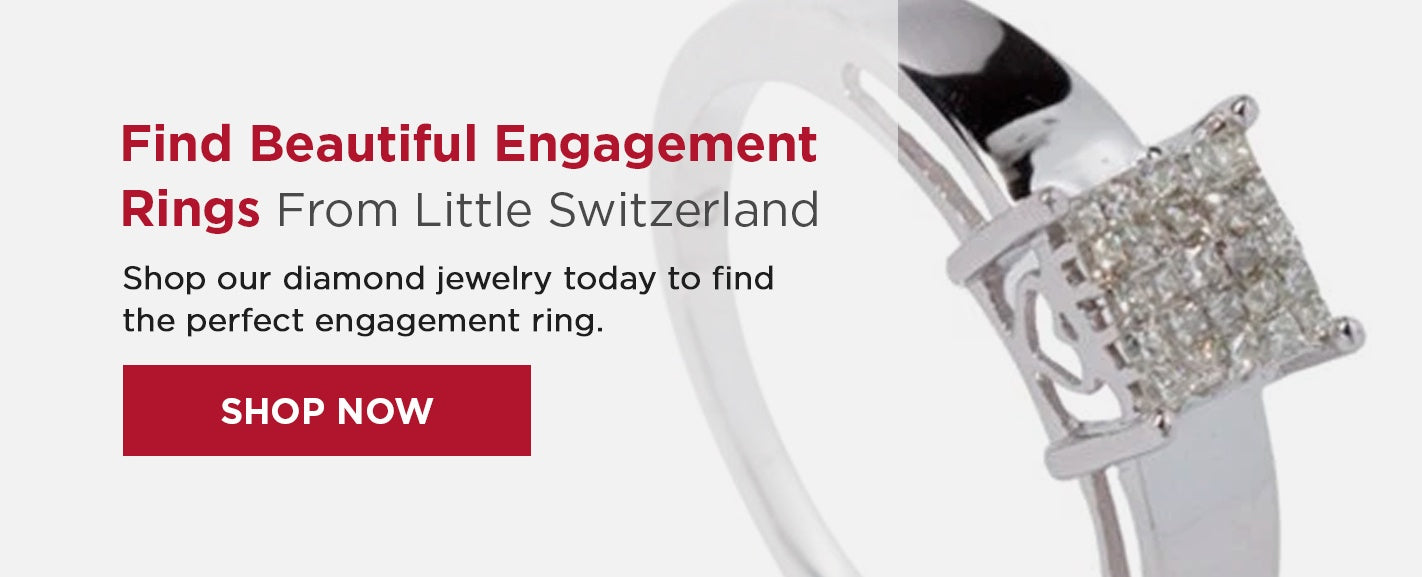 Shop engagement rings at Little Switzerland