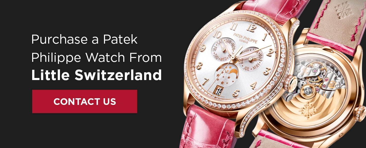 Shop Patek Philippe Watches at Little Switzerland