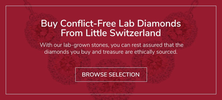 Buy Conflict Free Lab Diamonds from Little Switzerland