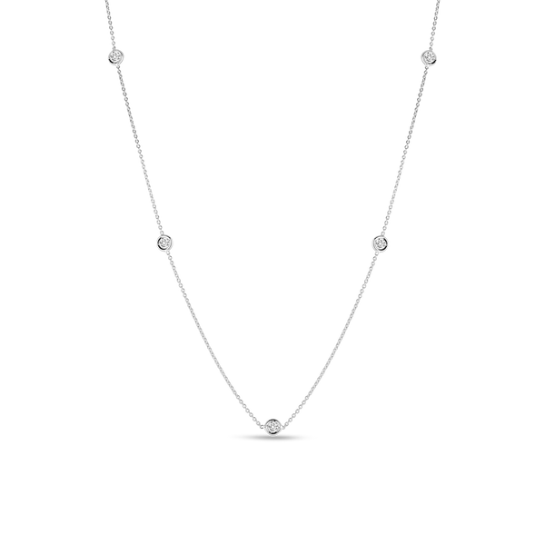 5 STATION DIAMOND NECKLACE