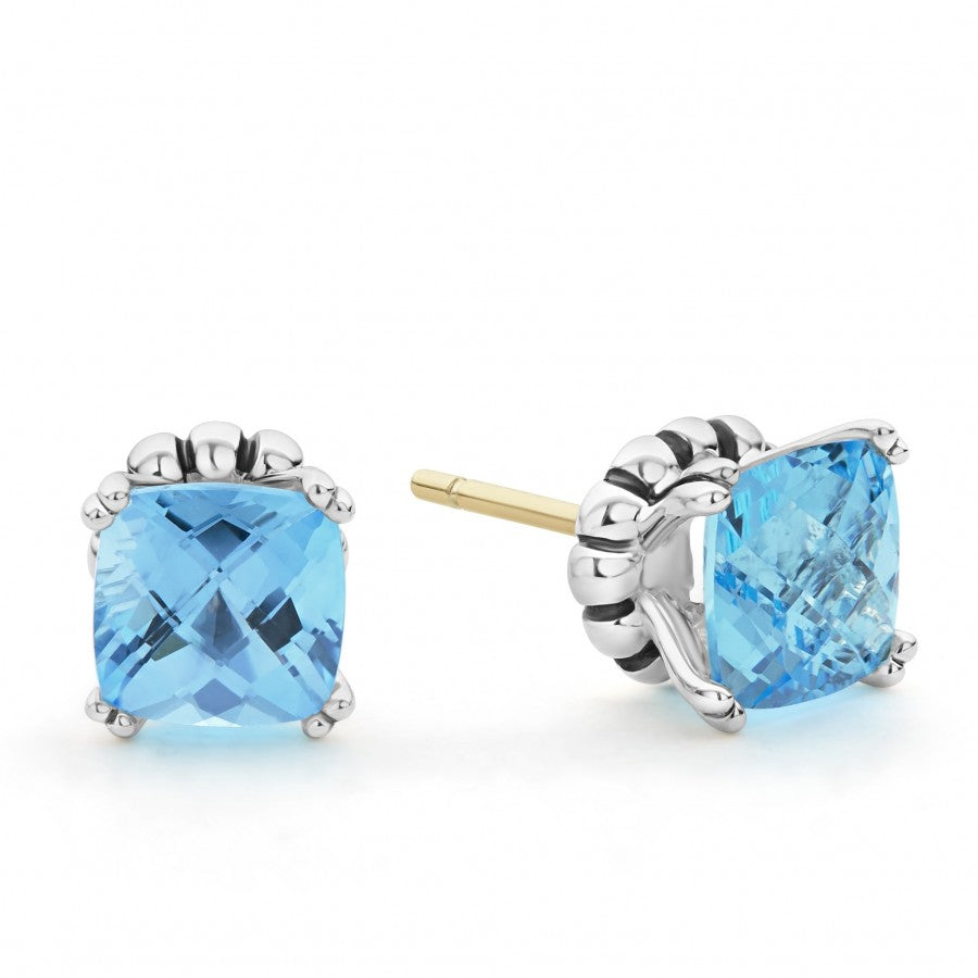 Prism Gemstone Stud Earrings