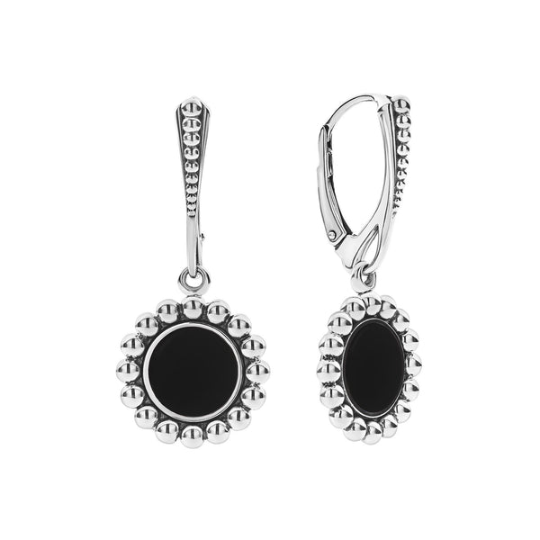 Maya Drop Earrings Onyx