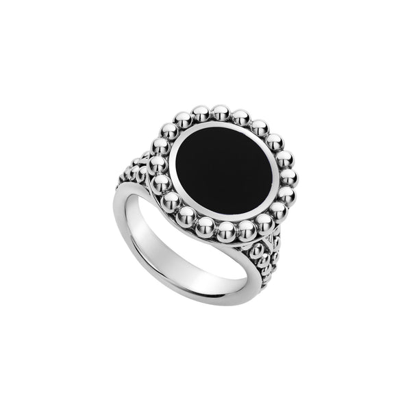 Maya Gemstone Ring Onyx