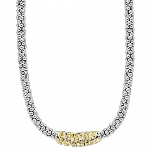 Embrace Caviar Beaded Necklace