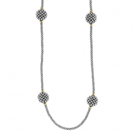 Caviar Forever Beaded Necklace