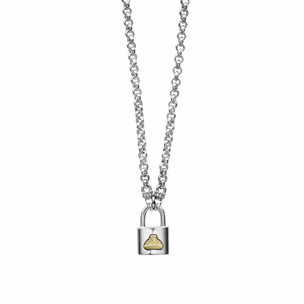 Beloved Lock Necklace