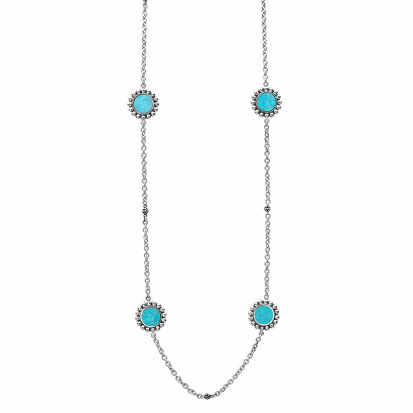 Maya Gemstone Necklace Turquoise