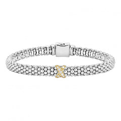 Diamond Lux Single Station X Bracelet