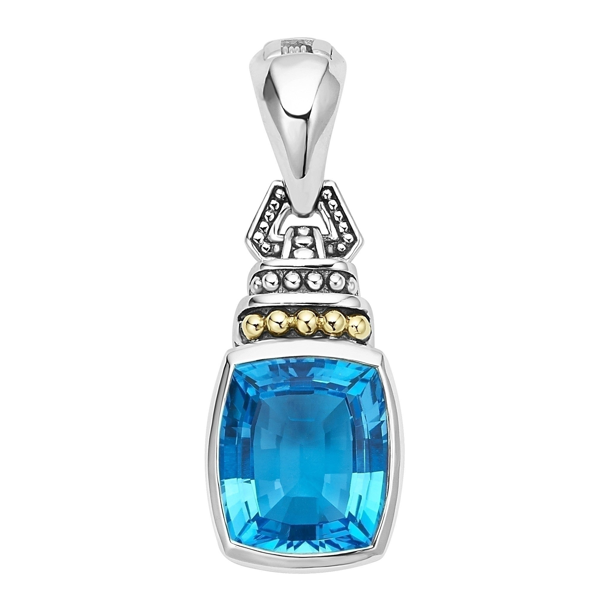 Caviar Color Gemstone Pendant