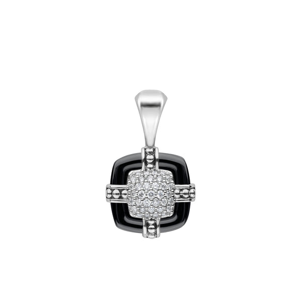 Black Caviar Diamond Pendant