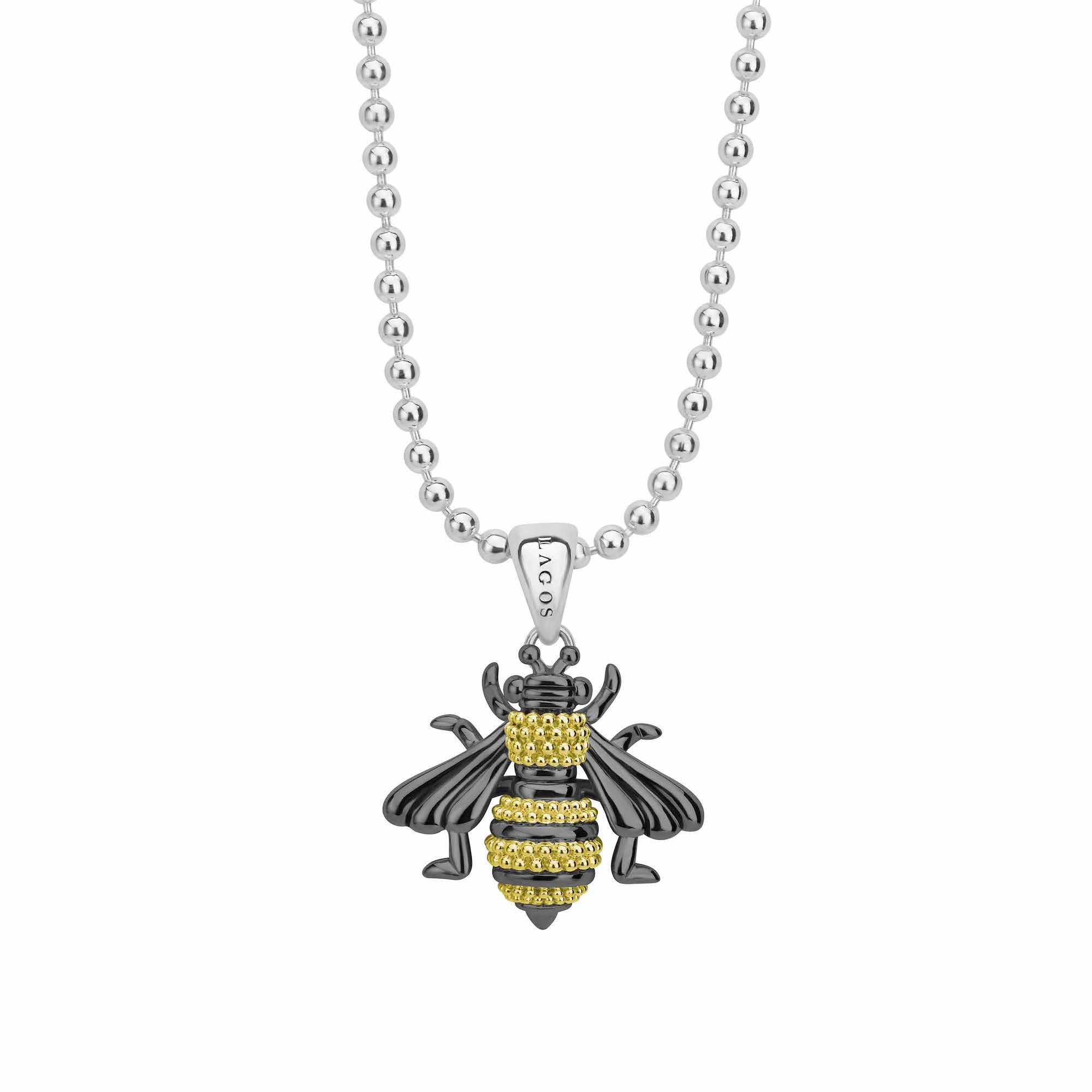 Rare Wonders Honeybee Necklace
