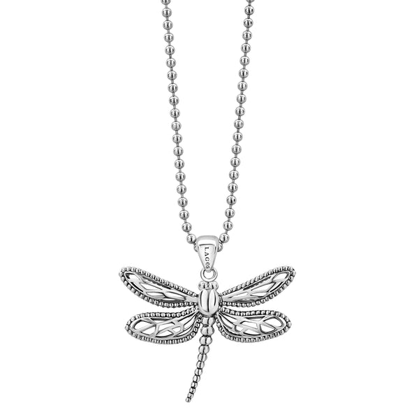 Rare Wonders Dragonfly Pendant Necklace