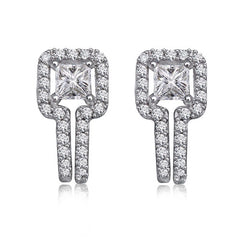 Diamond Earrings 14k White Gold  (0.83 ct. tw.)
