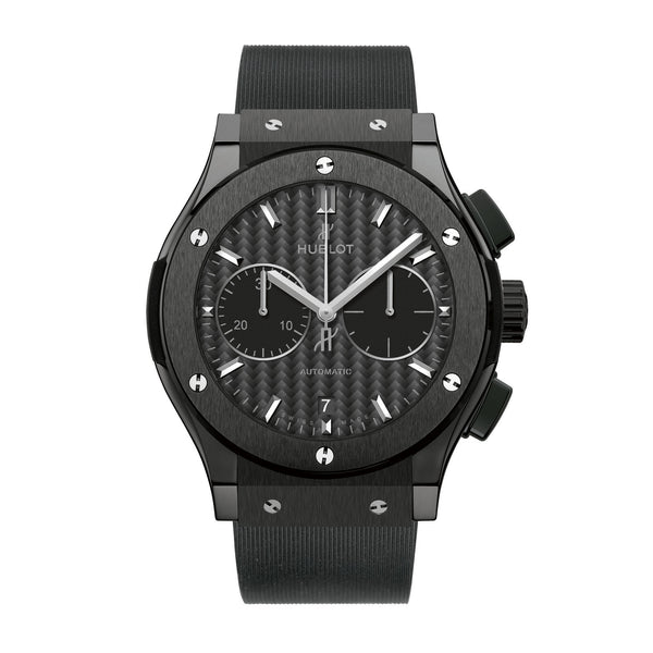 Classic Fusion Chronograph Black Magic Mat Carbon Fiber Dial Automatic Men's Watch