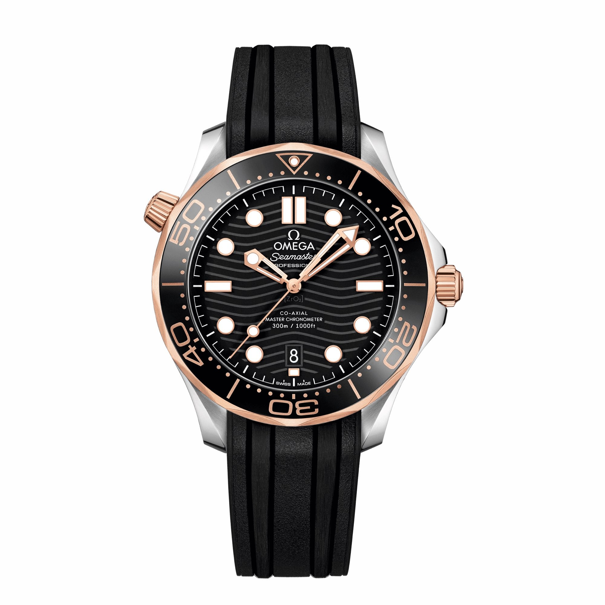 826b4db4ddd Seamaster Diver 300M Omega Co-Axial Master Chronometer 42 MM – Little  Switzerland