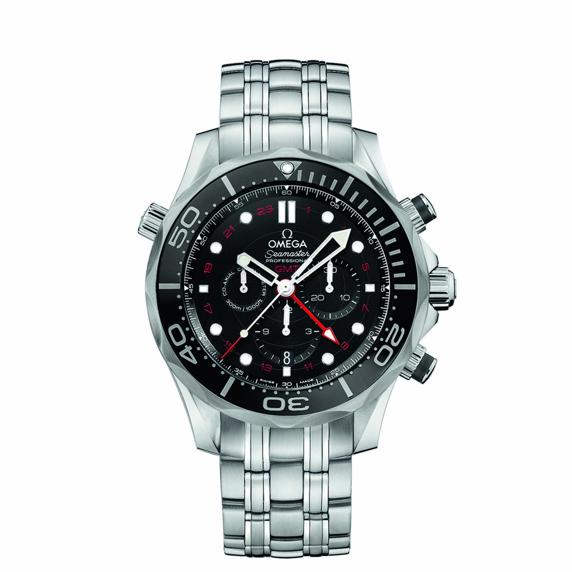 Diver 300 M Co-Axial GMT Chronograph 44 mm