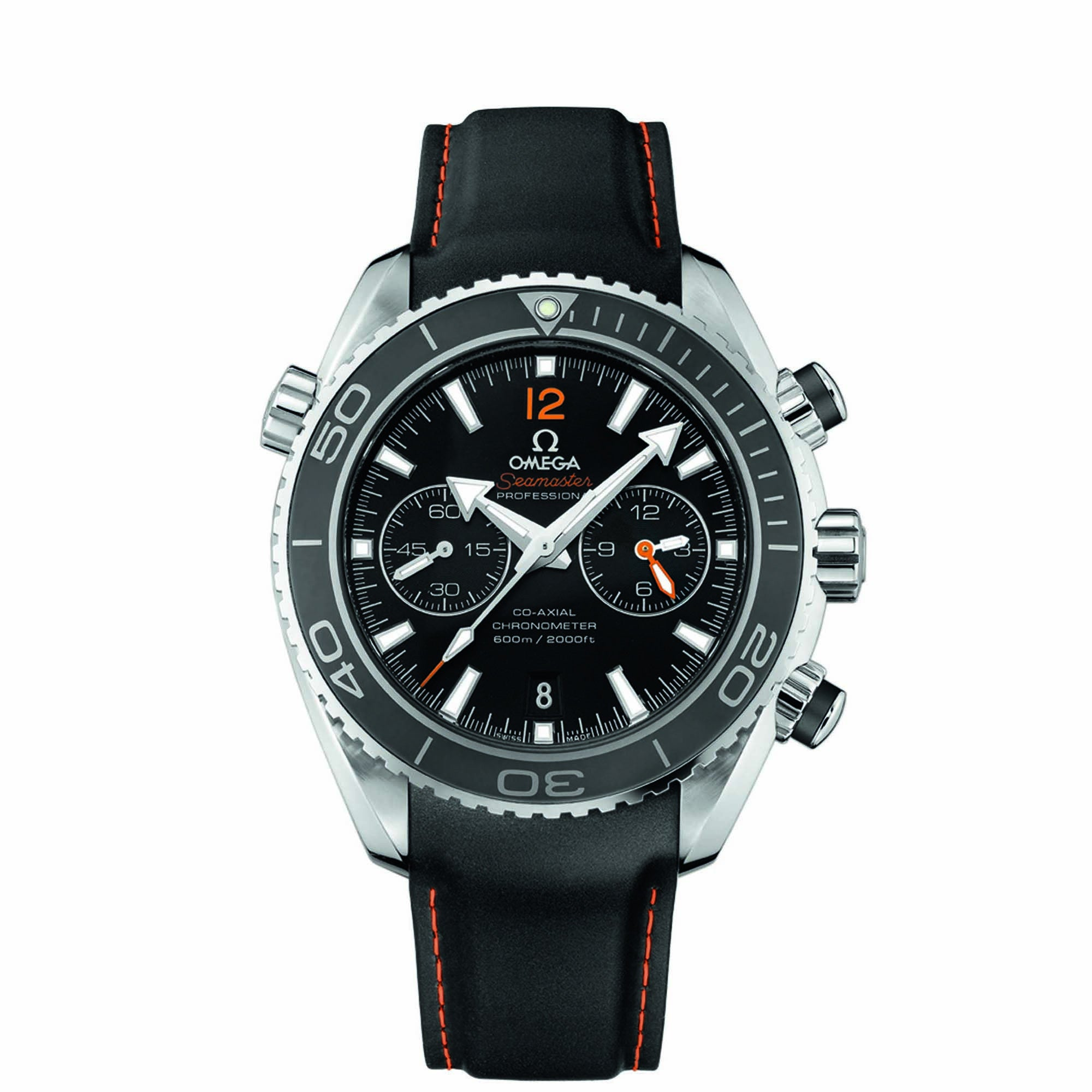 Planet Ocean 600M Omega Co-Axial Chronograph 45.5 MM