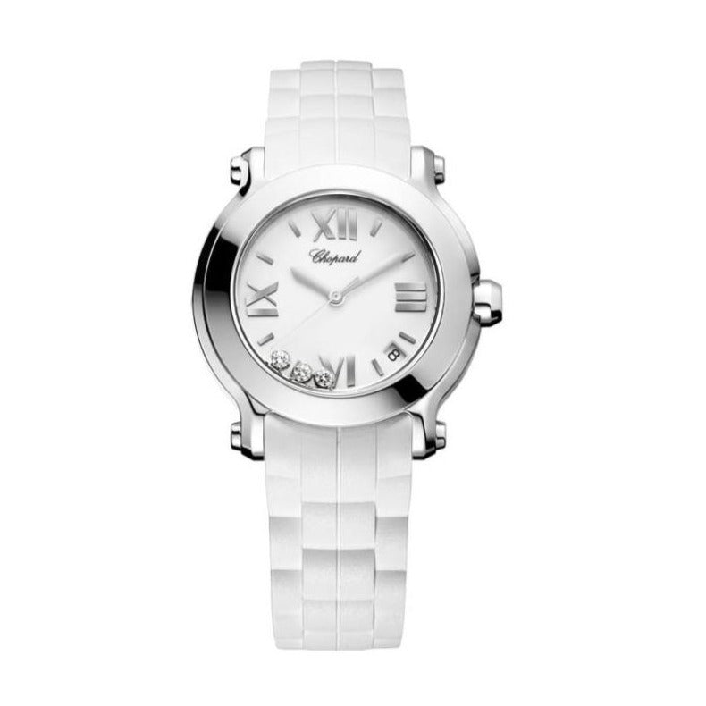 HAPPY SPORT ROUND LADIES WATCH