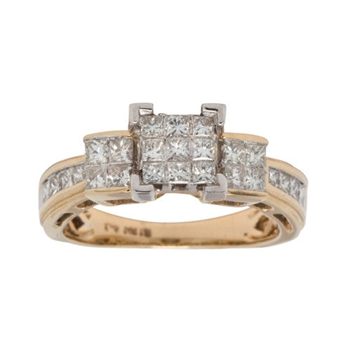 Diamond Ring 14k Yellow Gold (1 ct. tw.)