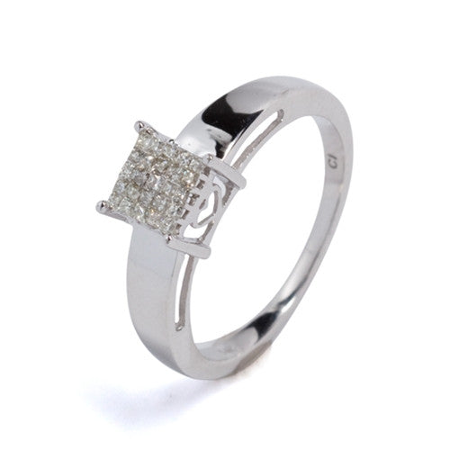 Diamond Ring 14k White Gold (0.25 ct. tw.)