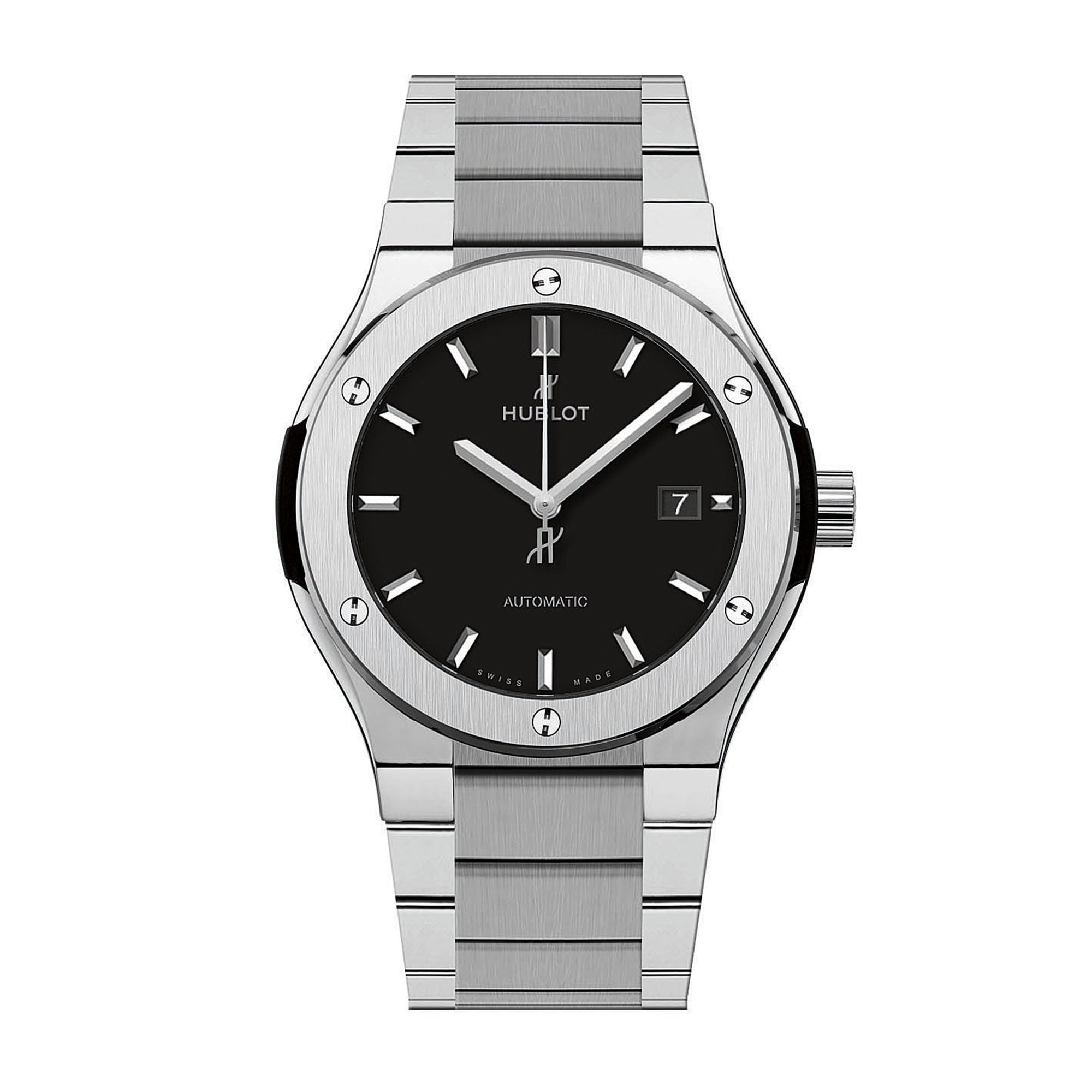 Classic Fusion Matte Black Dial Automatic Titanium Men's Watch
