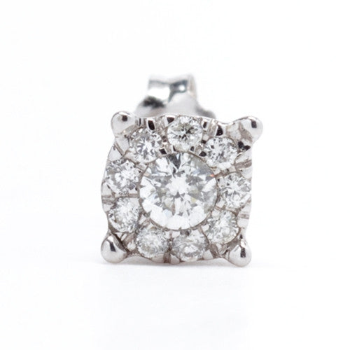 Diamond Stud Earrings 14k White Gold (0.50 ct. tw.)