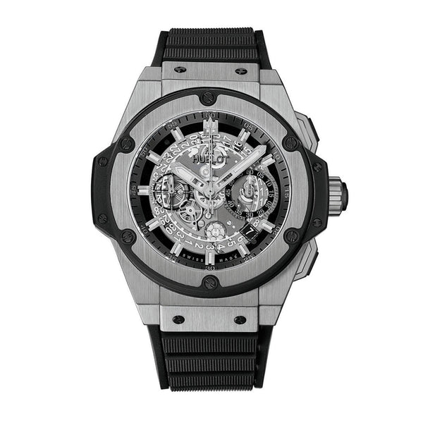 King Power Unico Skeleton Dial Titanium Men's Watch