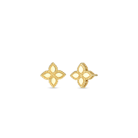 18K Yellow Gold Small Stud Earrings