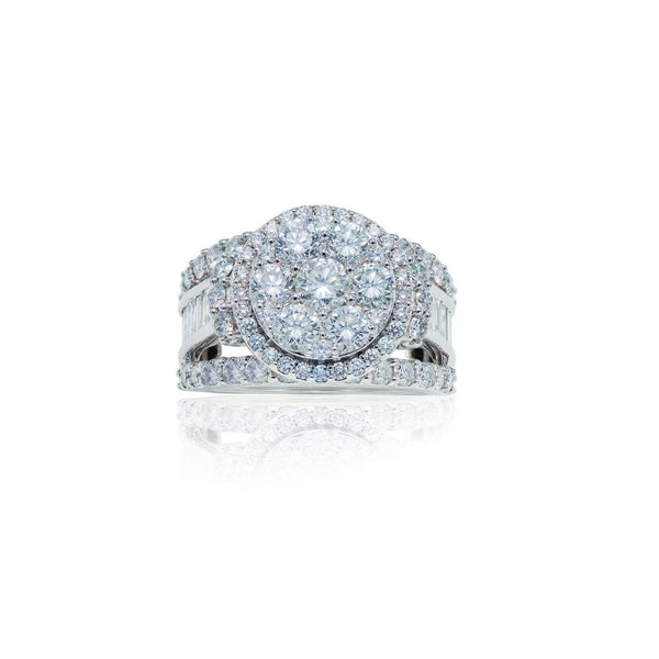3.50 CTW Gold Diamond Ring