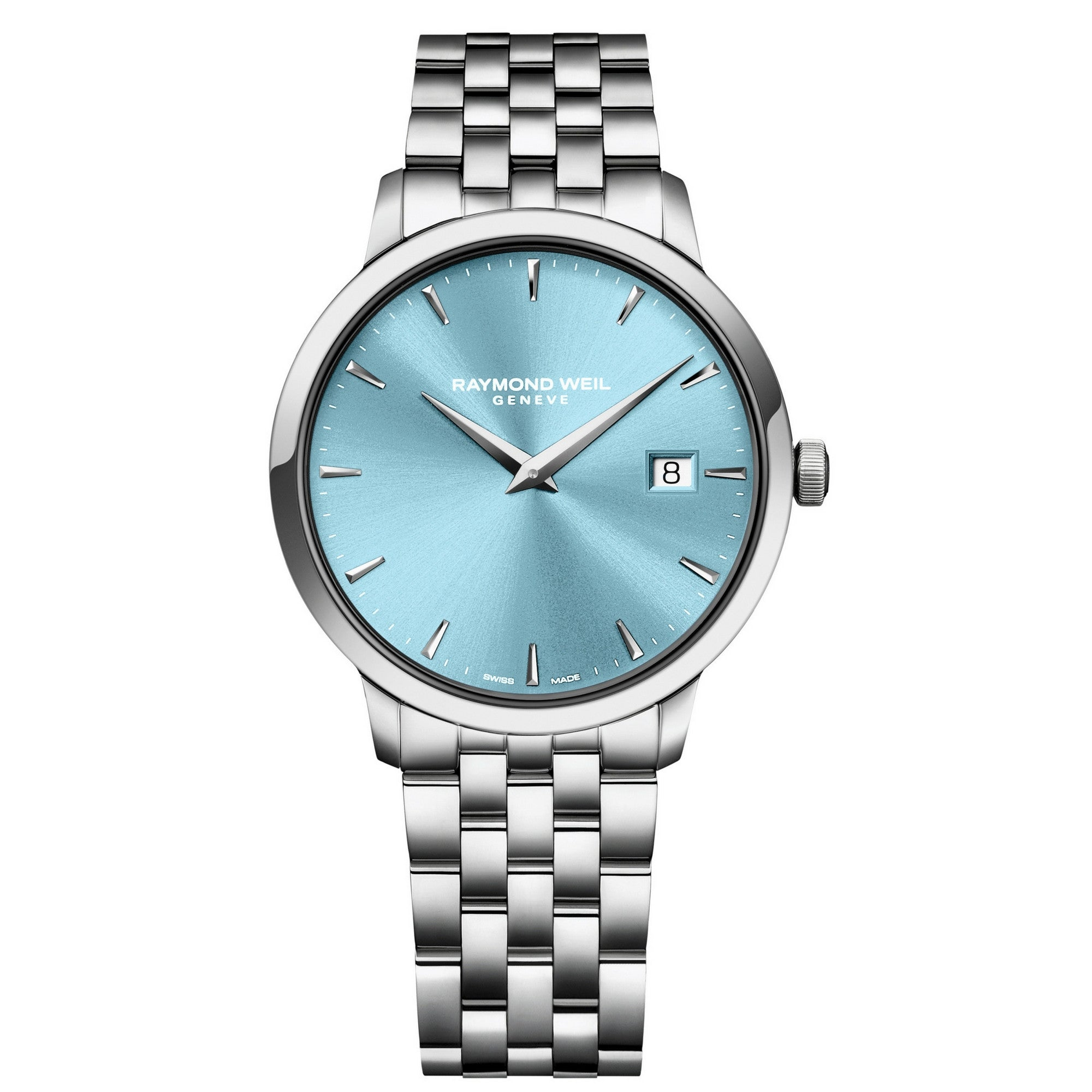 Blue face  Raymond Well Toccata Little Switzerland exclusive watches