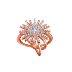 Spark 14K Rose Gold Diamond Ring (1 ct. tw.)