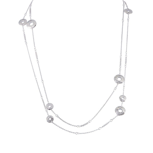 CHOPARDISSIMO NECKLACE 18K WHITE GOLD