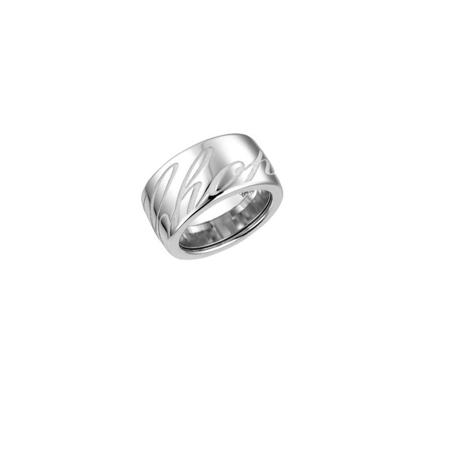 CHOPARDISSIMO RING 18K WHITE GOLD