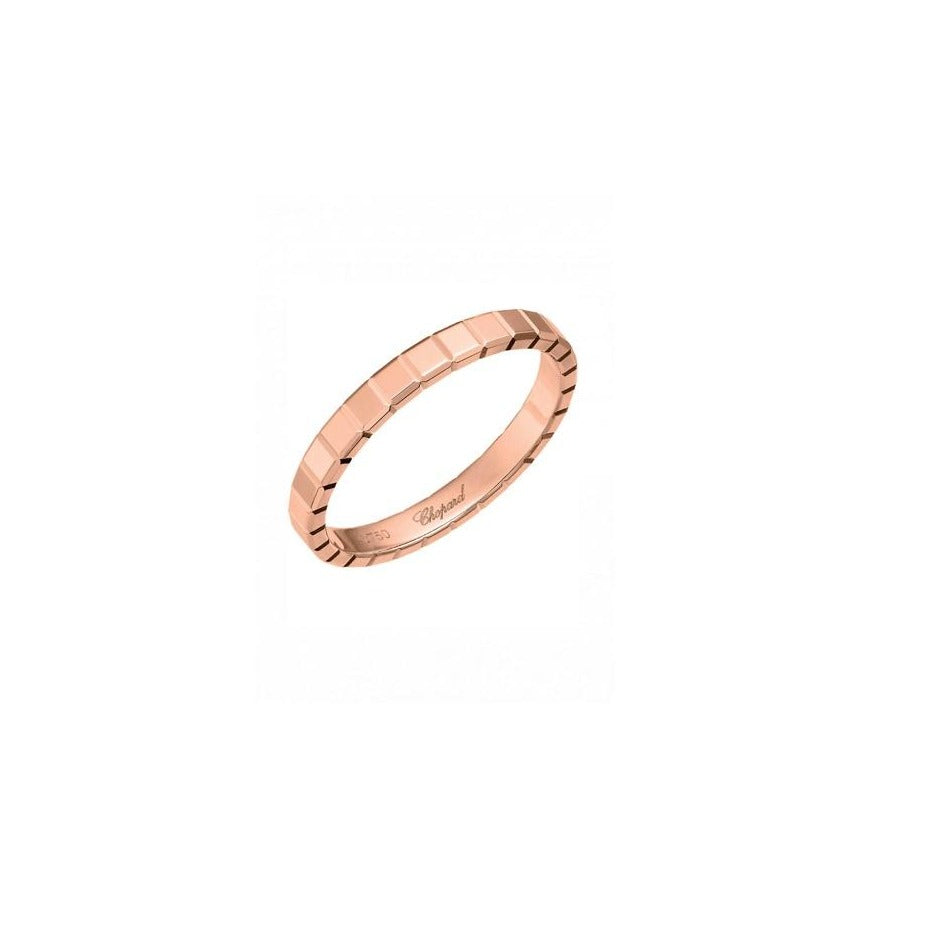 ICE CUBE RING 18K ROSE GOLD