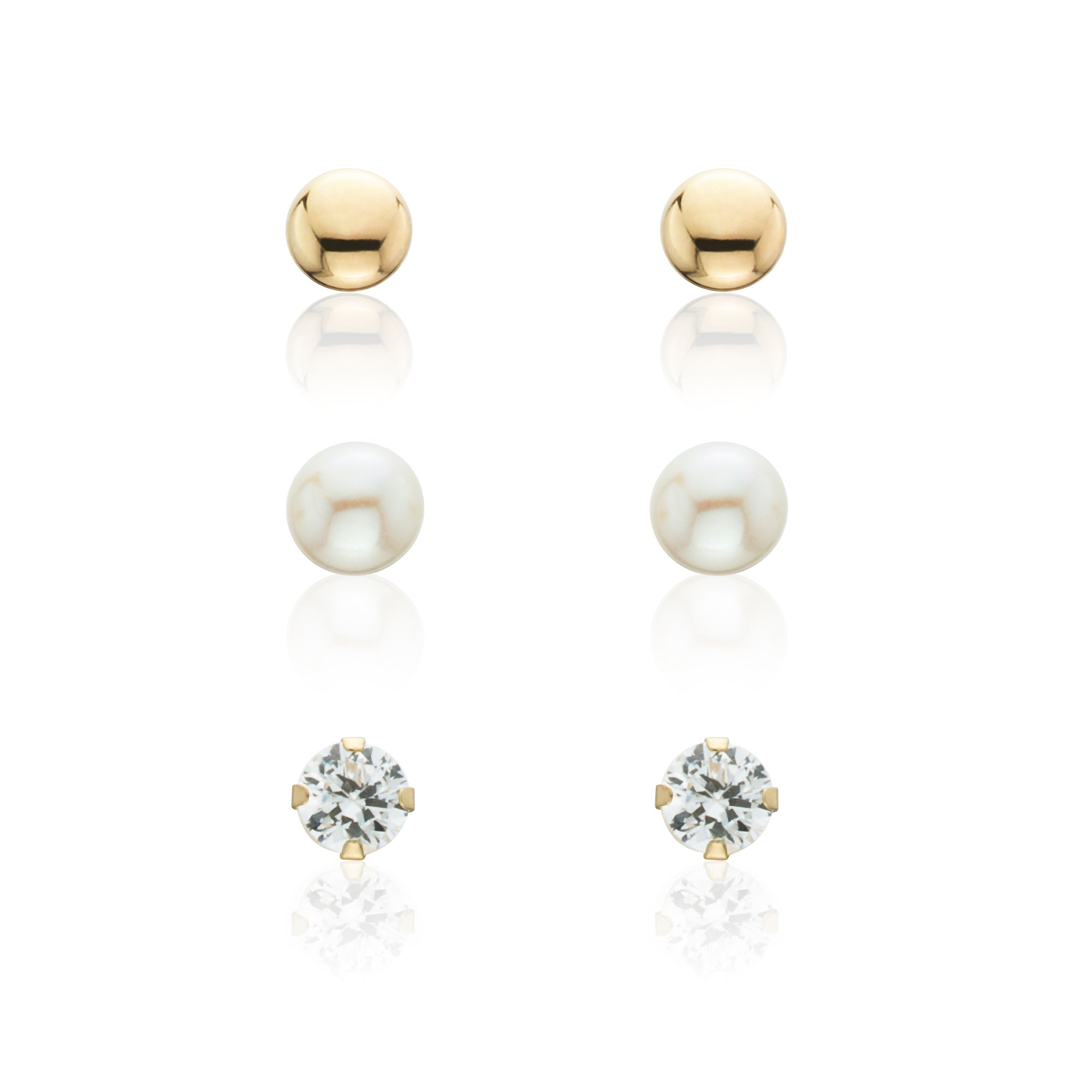 ball pinterest smile stud earrings mm me make pin