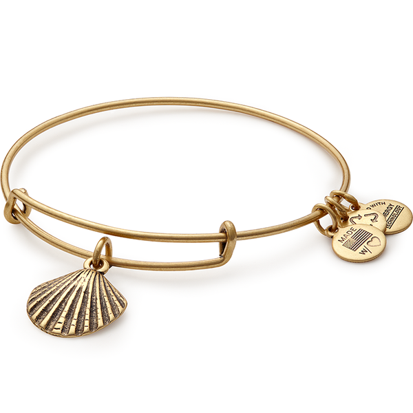 Sea Shell Charm Bangle