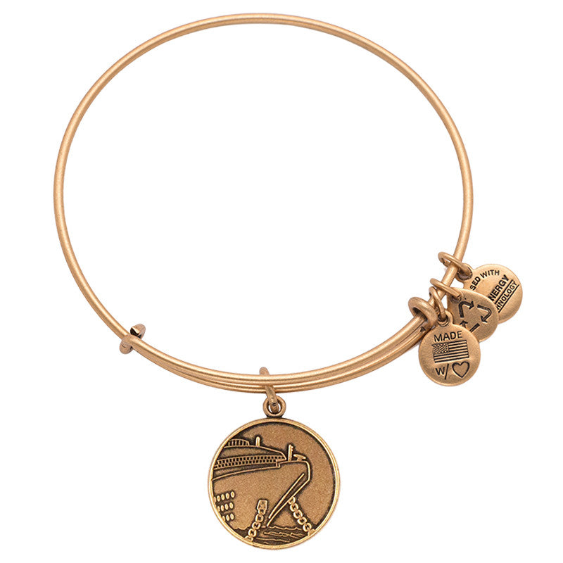 Cruise Ship Charm Bangle Little Switzerland - Alex and ani cruise ship bangle