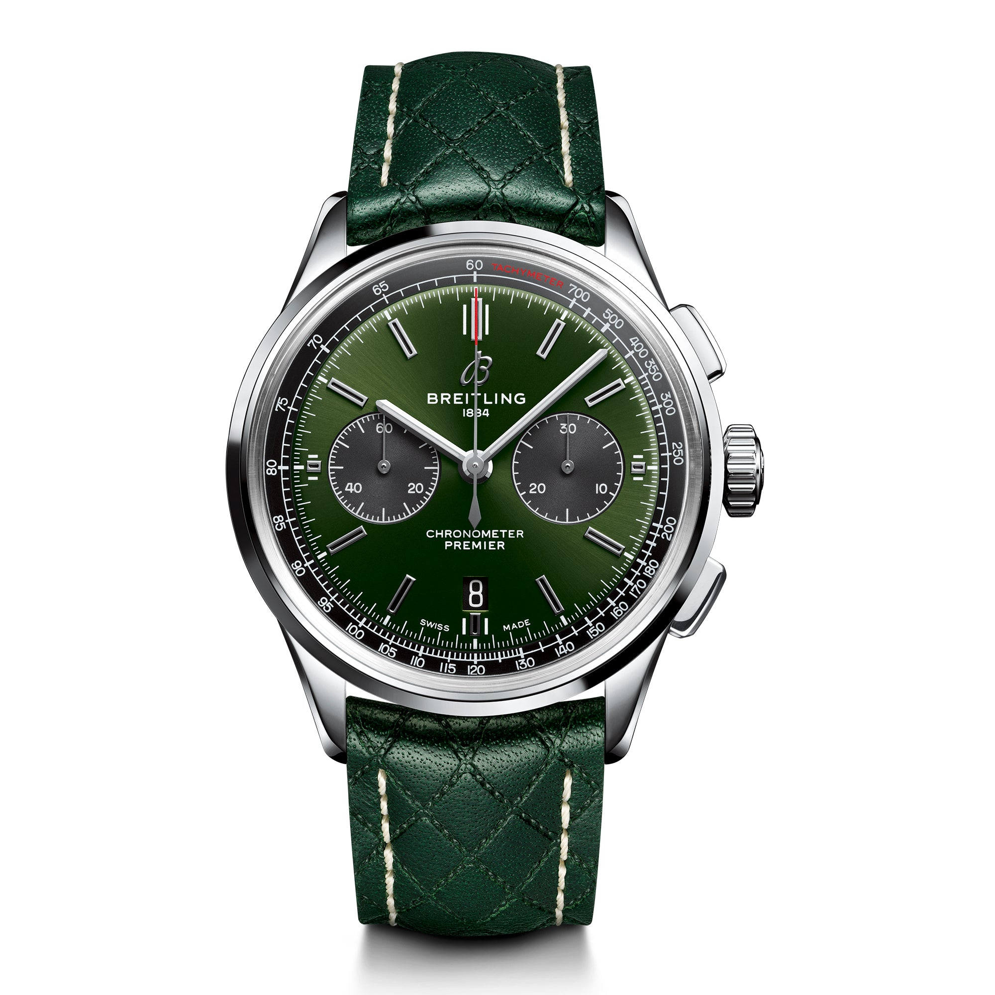 PREMIER B01 CHRONOGRAPH 42 BENTLEY BRITISH RACING GREEN