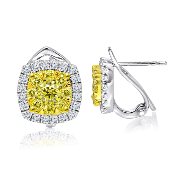 Fancy Yellow Diamond Earrings (1.75 ct. tw.)