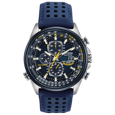 CITIZEN BLUE ANGEL WORLD CHRONOGRAPH A-T AT8020-03L