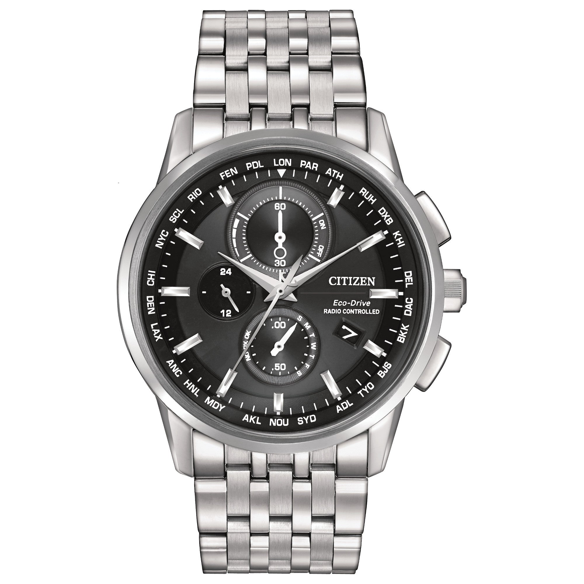CITIZEN WORLD CHRONOGRAPH A-T AT8110-53E