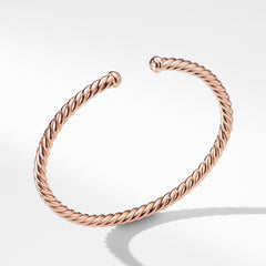 Petite Precious Cable Bracelet in Rose Gold