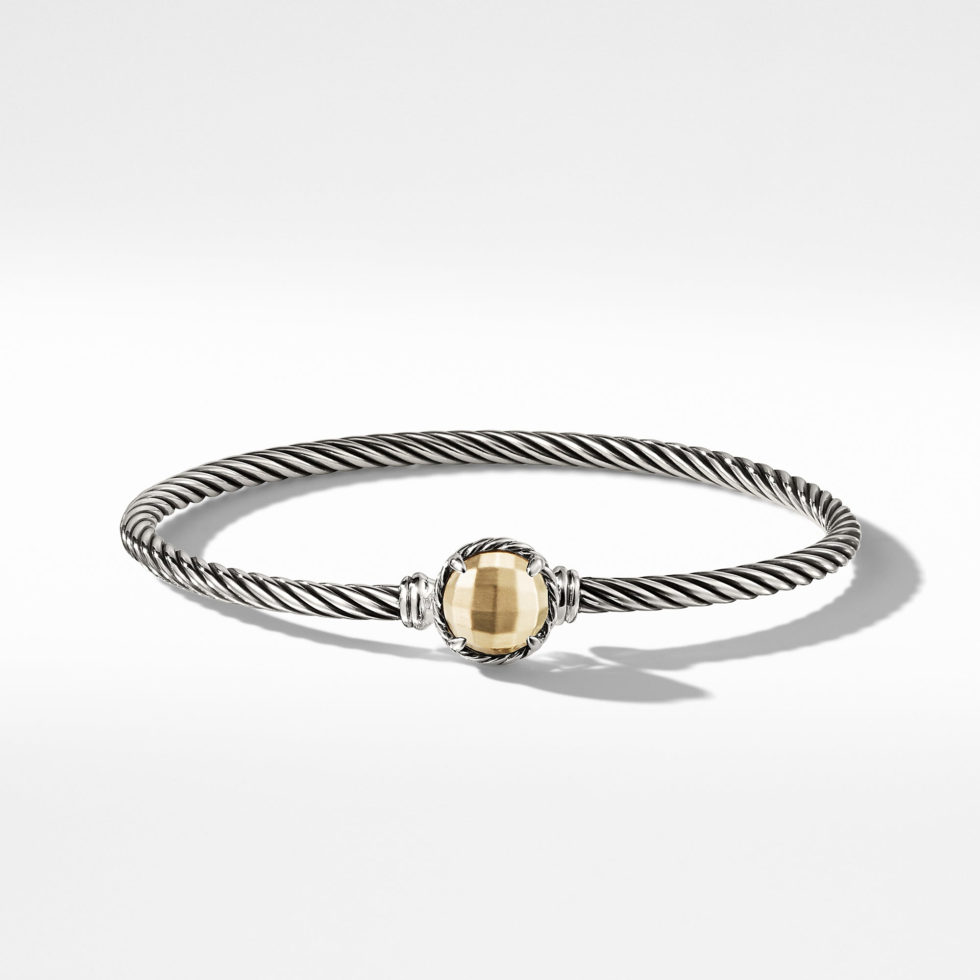Chatelaine Bracelet with Gold Dome and 18K Gold