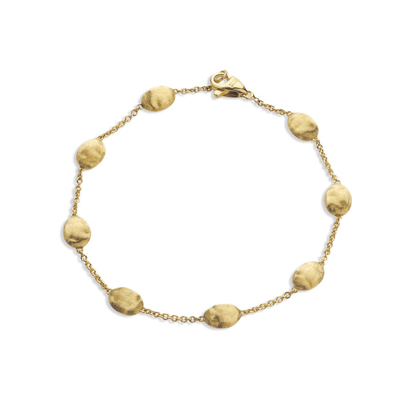 18K Yellow Gold Medium Bead Bracelet