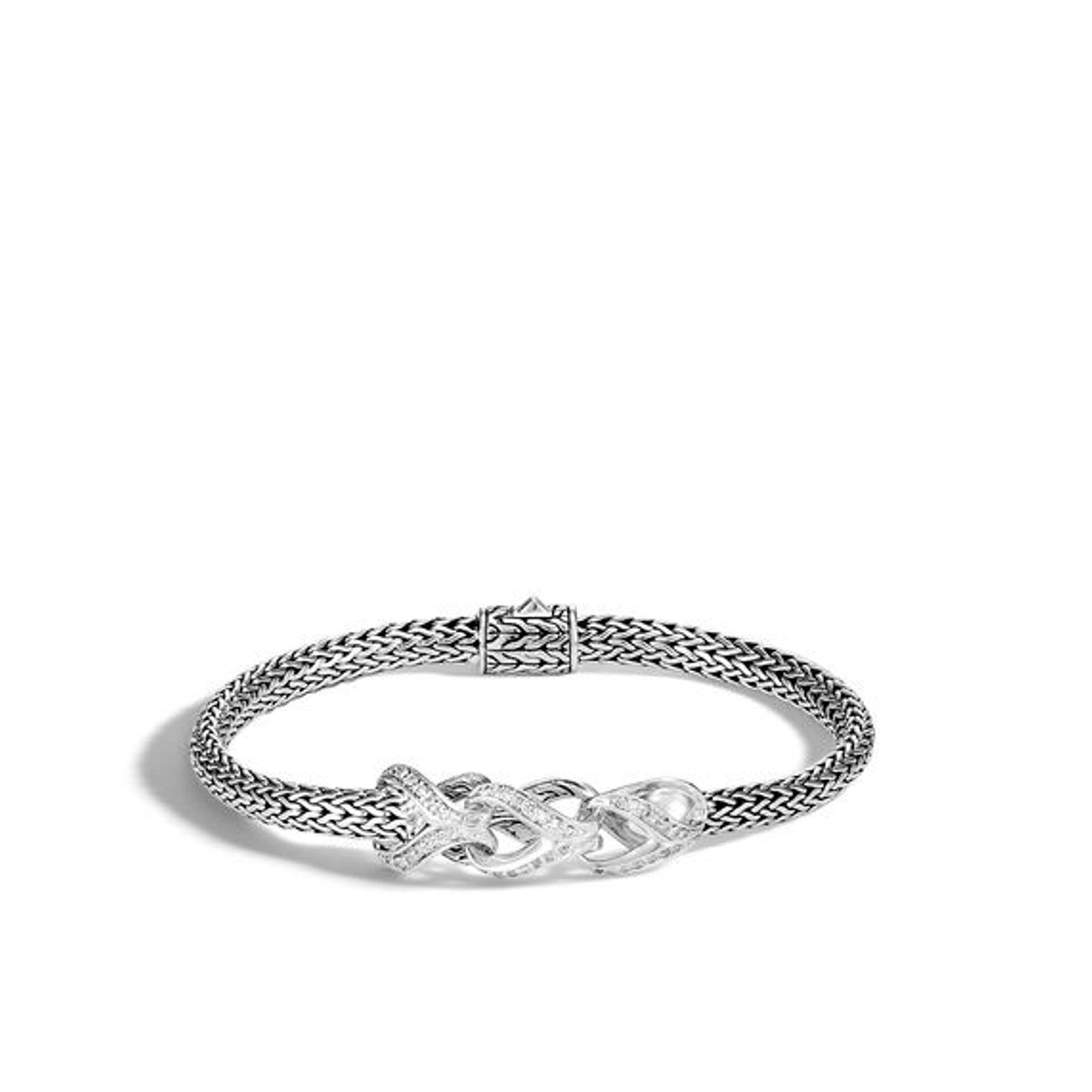 Women's Asli Link Station Bracelet with Diamond