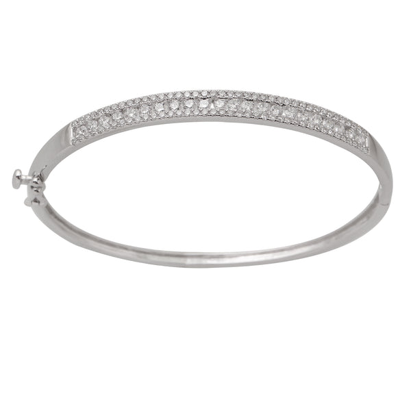 2.0 CTW Diamond Bangle Bracelet